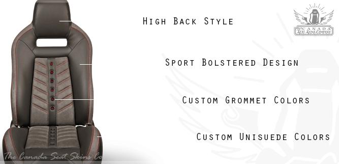 TMI VXR Viper Race Style Bucket Seat Kit