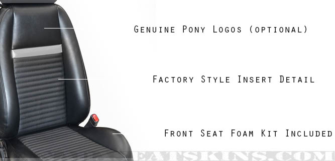 2003 - 2004 Ford Mustang Mach 1 Leather Seats