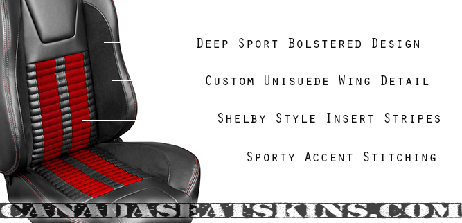 1994 - 2004 Ford Mustang Shelby Style Seat Detail
