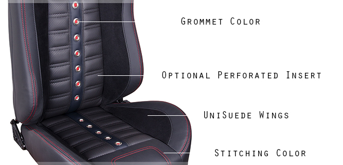 Sport XR Restomod Seat Design Detail
