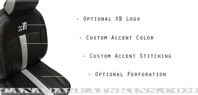 2008 - 2010 Scion XB Katzkin Leather Seat Designs