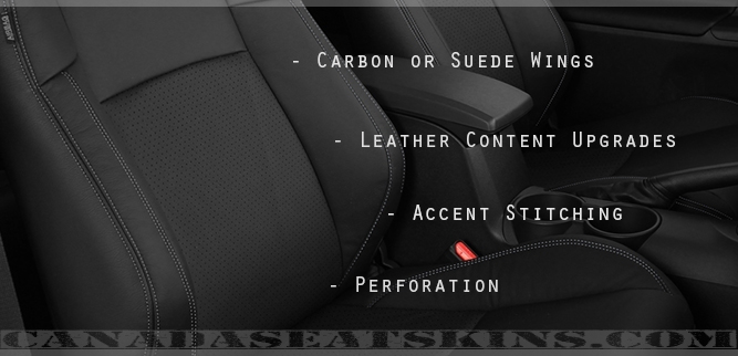 Scion TC Katzkin Leather Seat Designs