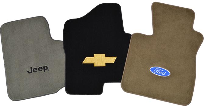 Auto Custom Carpet Logos
