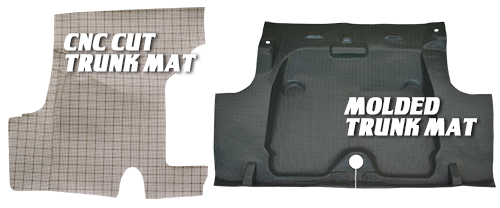 Auto Custom Carpet Trunk Mats